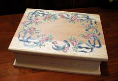 Victoria Larsen box before