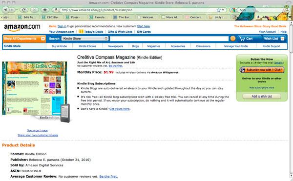 C8C Magazine Available on Amazon Kindle -