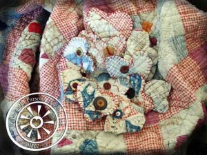 Quick Valentine Craft How To – Recycled Quilt Hearts