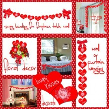 Printable Multi-Purpose Love or Valentine Decor Tutorial