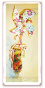 Celebrate Spring with Bright HandMade Pinwheels & Cupcakes