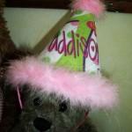 Thumbnail image for Birthday Hat & Designer Jeans for Addison's Birthday