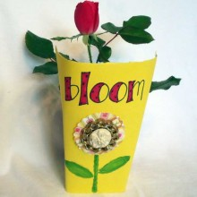 BLOOM Plant Wrapper Hostess Gift or Place Card