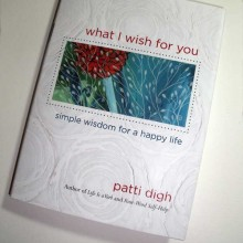 My Flutterby Illustration in New Patti Digh Book