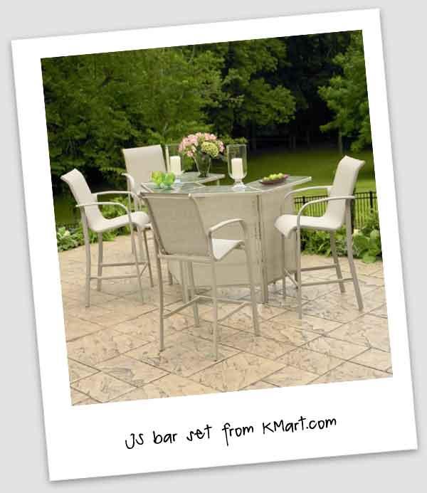 Outdoor Patio Bar Set Design Ideas