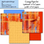 Post image for Beautiful Printable Paper Sets for Paper Art Projects