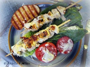 Kraft 4th of July Grilled Chicken Caesar Salad