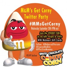 You're Invited to #MMsGetCorny Crafty Twitter Party! #cBias