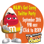 M&M's Twitter Party RSVP