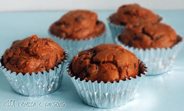 holiday baking pumpkin spice muffins