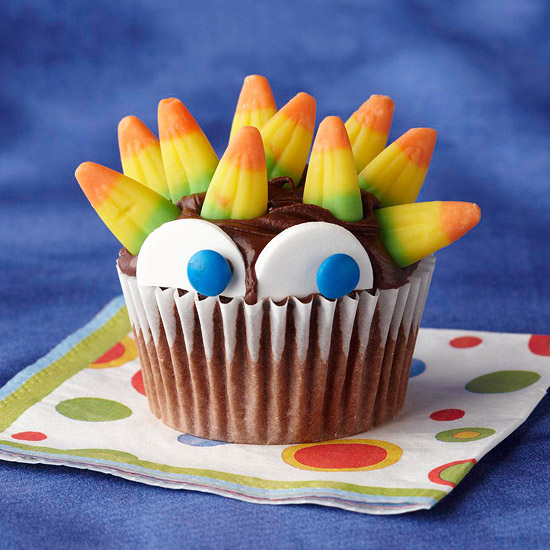 Halloween Cupcake Decorations With Candy Corn Halloween Candy Corn Cupcake