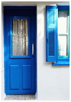 French Blue Door color