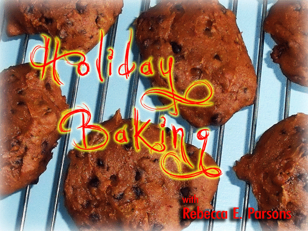 holiday baking pumpkin spice cookies