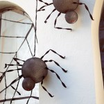 easy DIY Halloween spiders