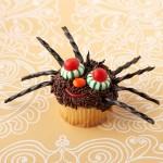 Halloween spidey cupcake