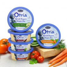 Review ~ Marzetti Otria Greek Yogurt Veggie Dip #CleverVeggieDip