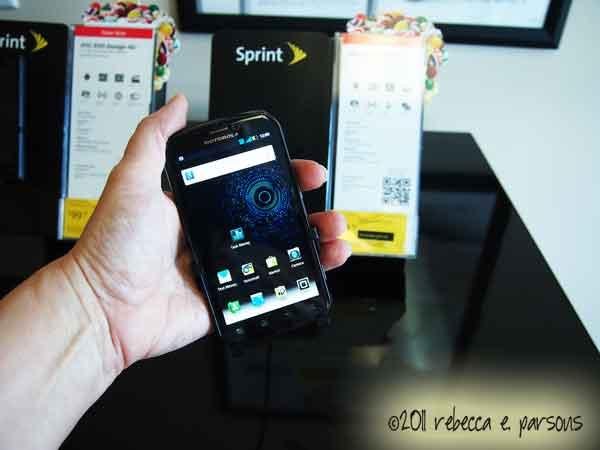 Motorola Photon 4G smartphone