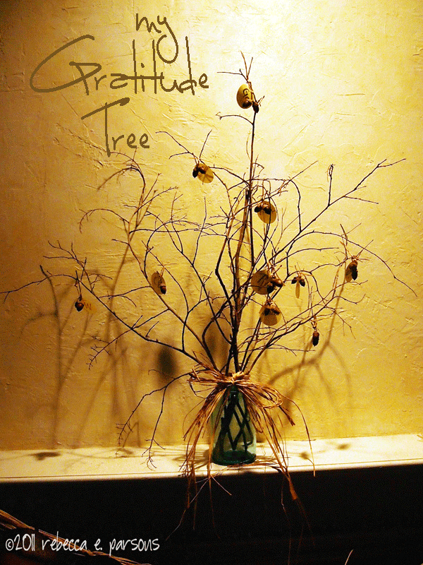 My Thanksgiving Gratitude Tree