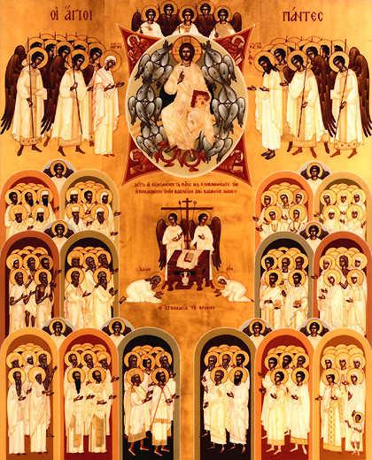 All Saints' Icon