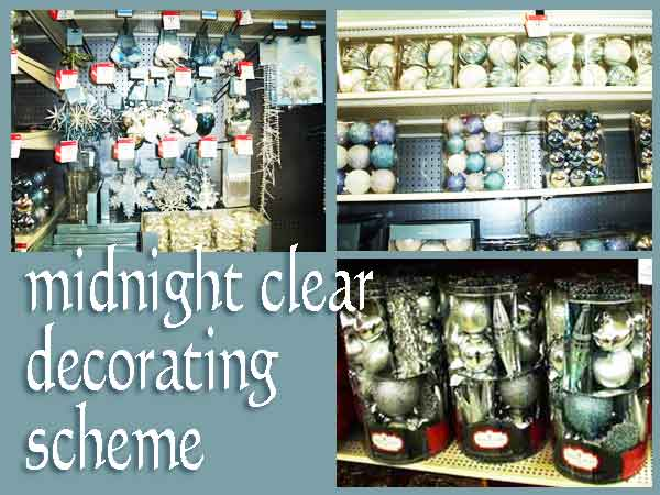#KmartHoliday Midnight Clear decor