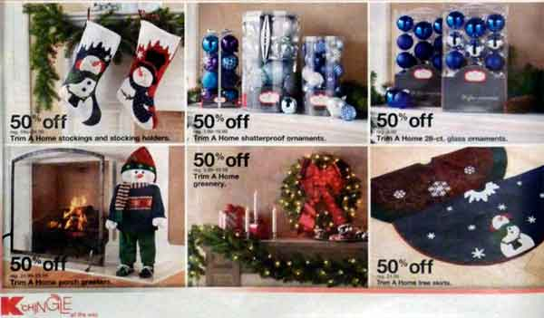 #KmartHoliday decor ad