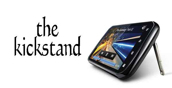 Motorola Photon 4G smartphone kickstand