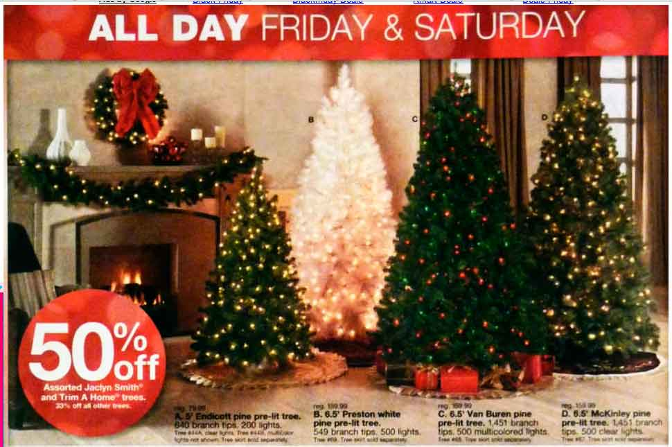 #KmartHoliday decor tree ad