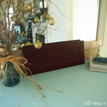 DIY, Christmas Decor Vignette,Elegantly Sumptuous,Luxe 4 Less, decorating,decorating ideas,decor