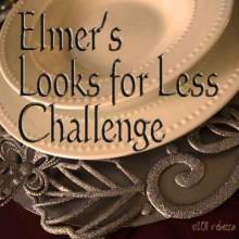Elmer's Glue X-Acto #Looks4Less #GlueNGlitter