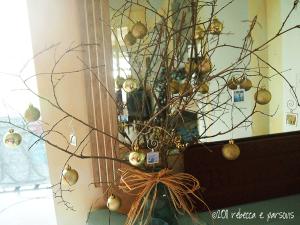 DIY Christmas Decor Vignette #13 ~ Elegantly Sumptuous Photo Jewelry Ornaments