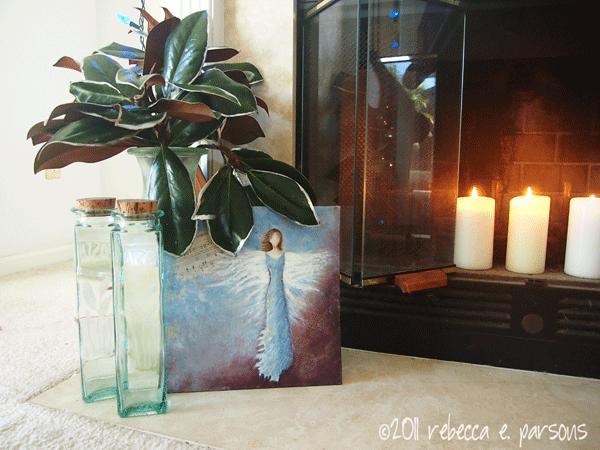 DIY Christmas Decor Vignette #17 ~ Elegantly Sumptuous Luxe 4 Less