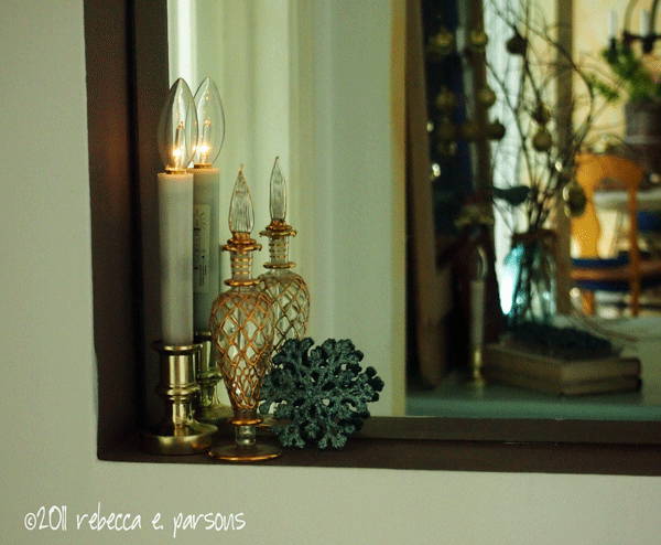 DIY Chrisdtmas Decor Vignette #5 ~ Elegantly Sumptuous Luxe 4 Less