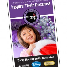 Christmas Reflections and Traditions…Disney Champions for Kids #DisneyCFK