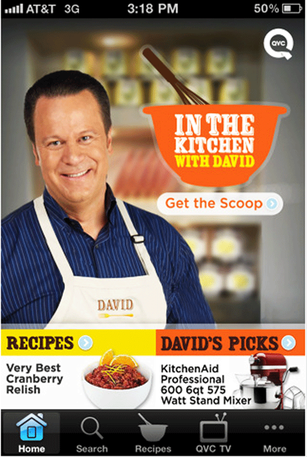 I was In the Kitchen with David on QVC #cBias #ITKWD -