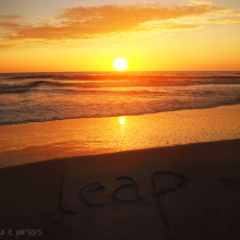 Leap into 2012 mantra