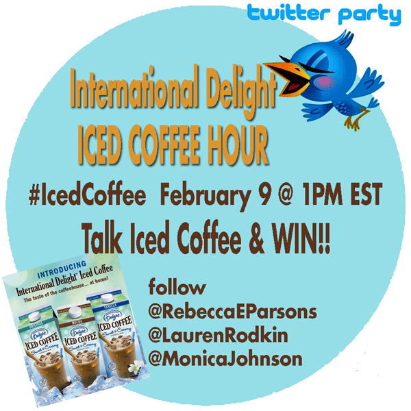 International Delight Iced Coffee #IcedCoffee Twitter party 2/9/12 @ 1PM EST