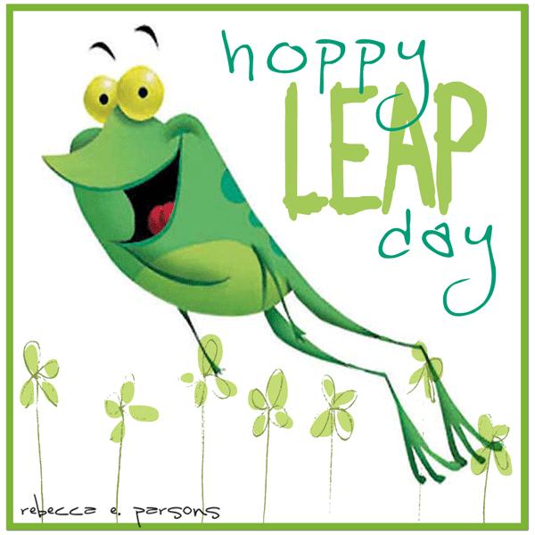 hoppy leap day rebecca e. parsons