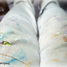my artist pants