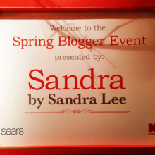 Spring Blogger Event ~ Sandra's Summer Carnival Launch Party in NYC #bySandraLee
