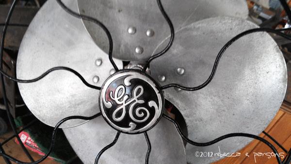 #GELighting old fan