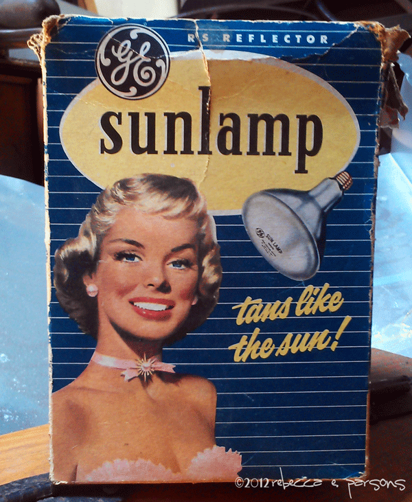 #GELighting old sunlamp