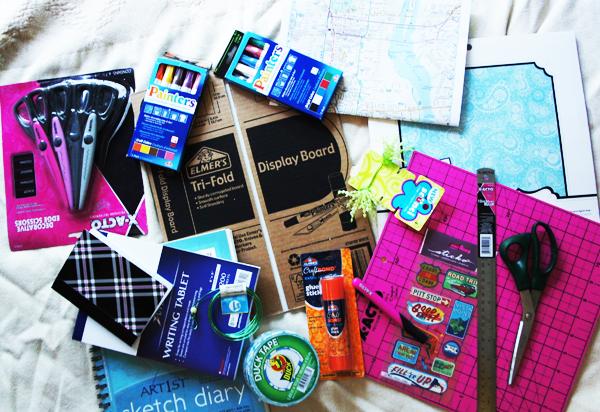 Cre8tive Compass Magazine Blogher 12 handmade travel scrapbook supplies