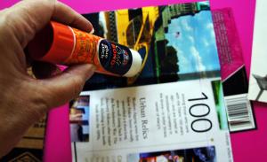 Cre8tive Compass Magazine Blogher 12 handmade travel scrapbook tutorial