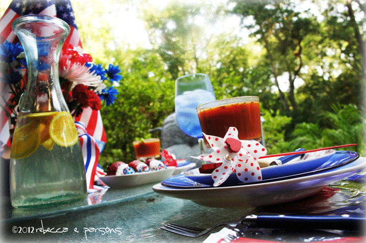Red White & Blue Lunch