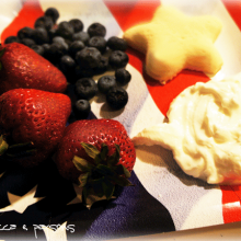 Red, White & Blueberry breakfast