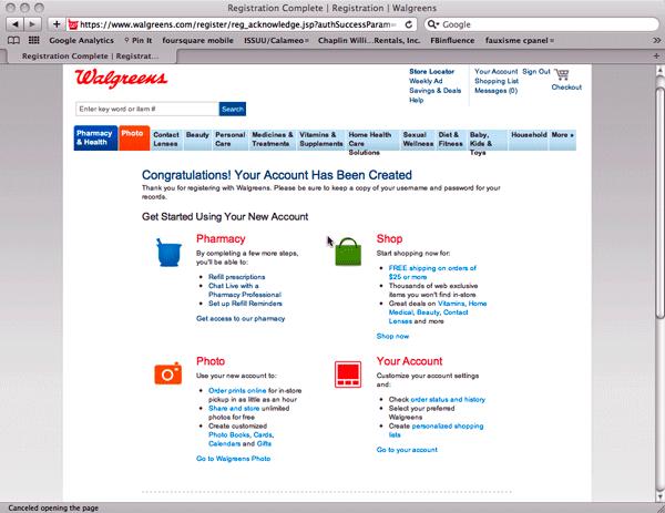 Walgreens Prescription Savings Club register  #rxsavingsclub