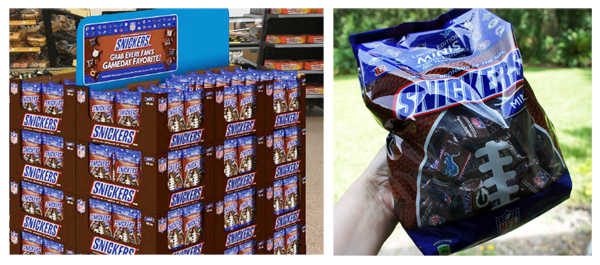 Snickers-mini-NFL-display #SnickersMinis