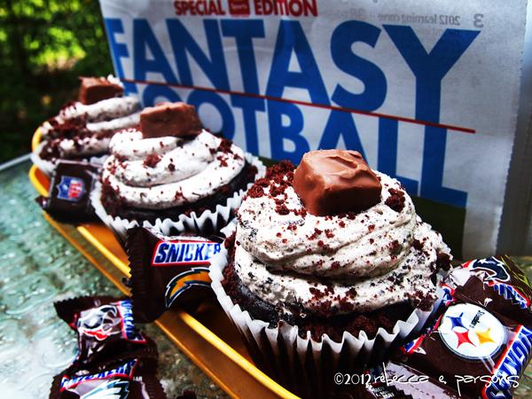 #SnickersMinis cupcakes