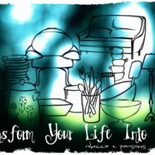 transform your life into art Rebecca E. Parsons original art