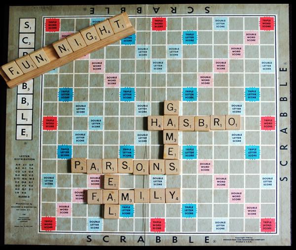 Hasbro Scrabble Parsons
